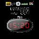 Reloj digital rotatorio Wi-Fi HD 1080P